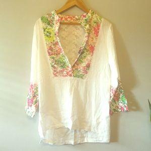 Soft Surroundings Linen Tunic